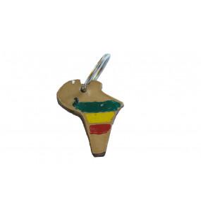 Mebetu- Africa Map Key holder