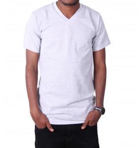 Bayushe_ Short Sleeve V neck Men's T-shirt