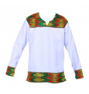 Mehamed_ Men's long-sleeved Traditional Shirt