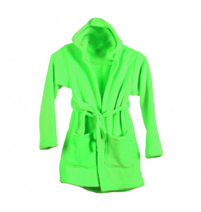 Estifanos_ Kids Girls Boys Dressing Gown Fleece Nightwear