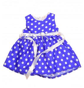 Seregut_ Blue Kids Dress