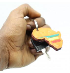 Yesake_African Map Key holder