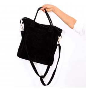 Amesale_ Black Velvet Bag