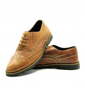 Meteku_ Brown Men's Shoe