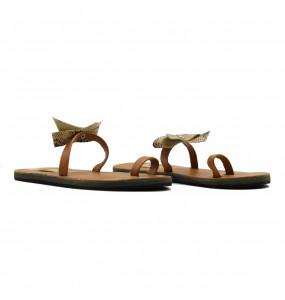 Dagmawi_ Leather Upper Girls Sandal
