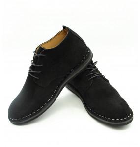 Getenet_ Black Velvet Men's Shoe