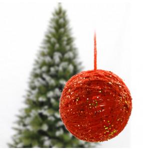 Metasebiye_ Handmade Mix Color Christmas ball (6pcs)