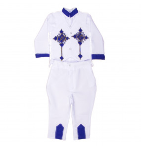 Mulunesh_ Baby boy Traditional Kid's Suit (3pcs)
