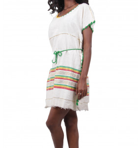 Hymanot_ Women's Traditional Dress