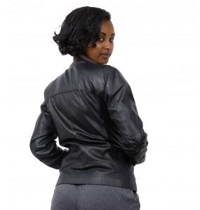Anesha_ Women's Leather Jacket