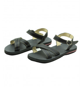 Kamile_  Genuine Leather Top Women's Sandal Shoe