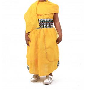 Bezualem_ Kids Traditional Dress