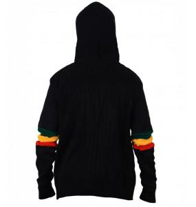 Habsha_ Women's Hooded Long  Sleeve Sweater Tops
