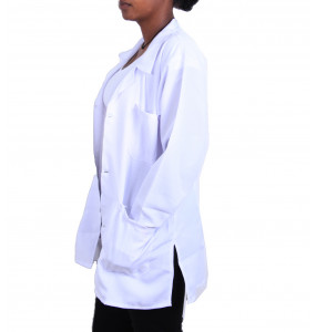 Ashenafi_uniforms unisex white Lab Cot