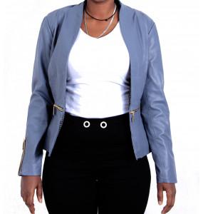 ABREHAM_Women's Leather Jacket