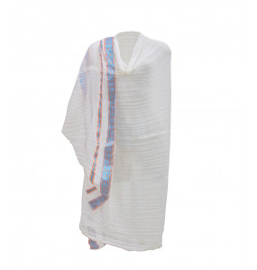 Yohanes_100 % Cotton Traditional White Netela