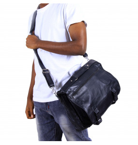 Mesfin _ Genuine Lather Men's Shoulder Bag /Hand Bag