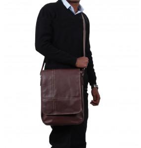 Tigist_ Leather Men's Laptop Bag