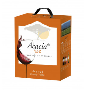 Acacia Dry Red Wine Bag-In-Box Packaging