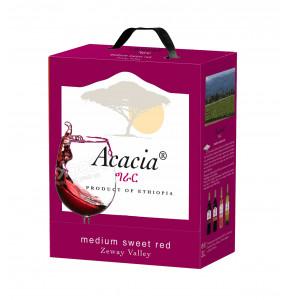 Acacia Medium Sweet Red Wine Bag-In-Box Packaging