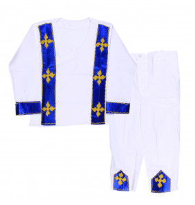 Tilahune_ 100% Cotton Traditional Kid's Suit