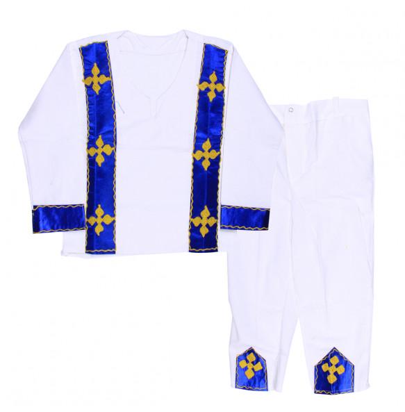 Tilahune_ 100% Cotton Traditional Kid's Suit