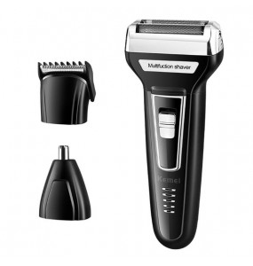 Kemei Multifunctional USB Rechargeable Hair trimmer Electric Shaver