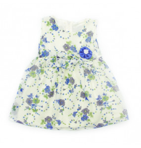 Serkalem_  Sleeveless, Round neckline Kids Dress (1-2 years)