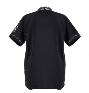 Yohanes_ Men's Short Sleeve Lightweight Chef Cot