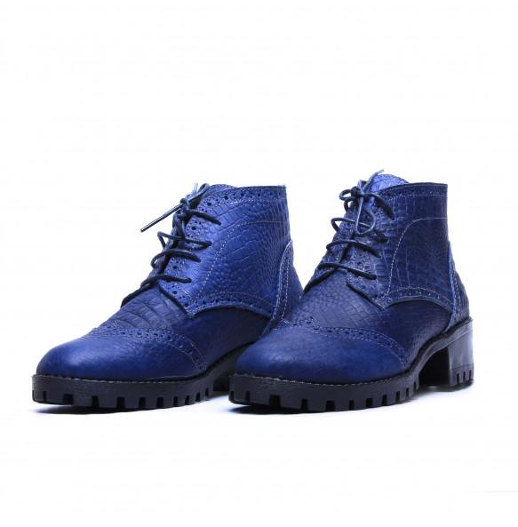 Weynshet_ Leather Women's Short Boots Shoe