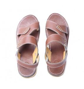Desalege _Men's Genuine Leather  Sandal  Shoe