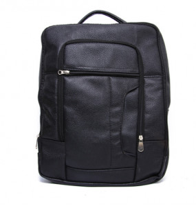 Meseret_ Genuine Leather Classic Laptop Backpack (40×35cm)