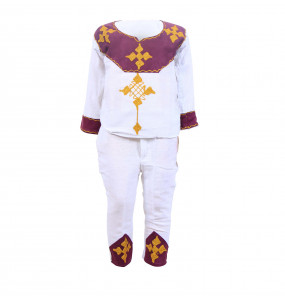 Zerfe  _100% Cotton Traditional Kid's Suit