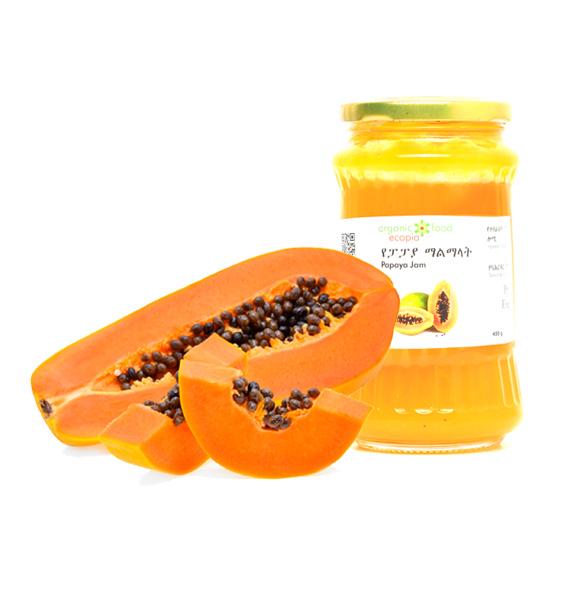 Ecopia Organic Papaya Jam