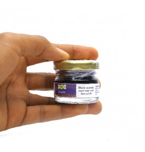 Ecopia 100% Organic Black Cumin Seed Body And Face Scrub
