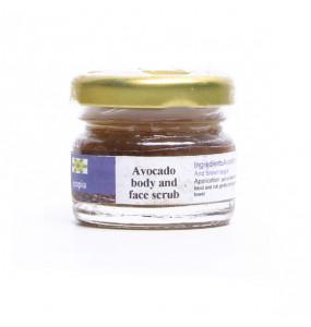 Ecopia 100% Organic Avocado body and Face Scrub
