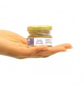 Ecopia 100% Organic Sesame Body and Face Scrub