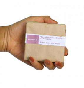 Ecopia 100% Organic Black cumin Soap (100 gm)