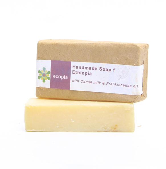 Ecopia 100% Organic Camel Milk and Frankincense Oil (50gm)
