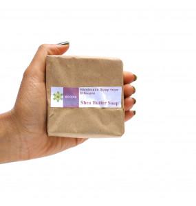 Ecopia 100% Organic Shea Butter Soap (100 gm)