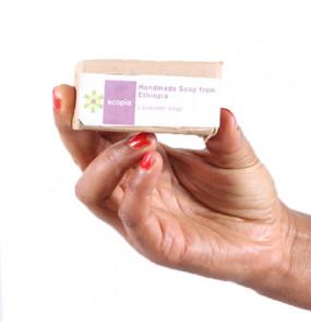 Ecopia 100% Organic Lavender Soap (50 gm)