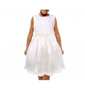 Zenebwork_ Sleeveless Pink Girl's Dress