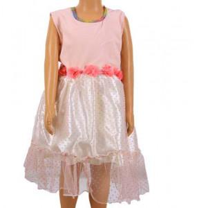Zenebwork_ Sleeveless Girl's Dress