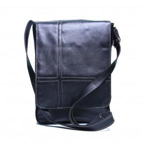 Faskia _Genuine Leather Cross body Lap top Bag (35*26)