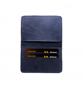 Fasika _Genuine Leather Hand Craft ATM/License Card Wallet