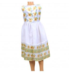 Abeje_ Kids Traditional Sleeveless Dress