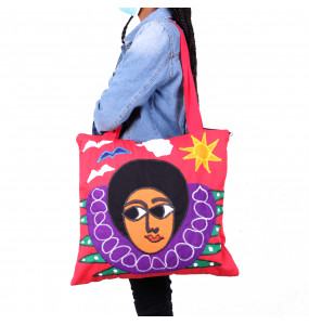 Abeba _Women's Colorful Canvas Bag