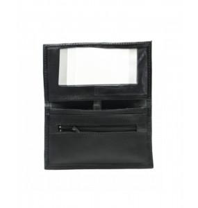 Amare  _Genuine Leather Black Wallet Bag