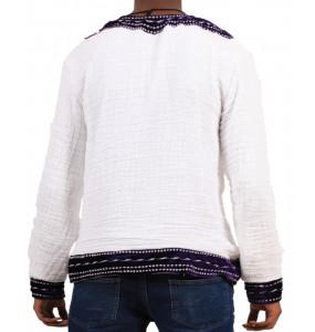 Mulu_ Men's Long-Sleeved Traditional Shirt