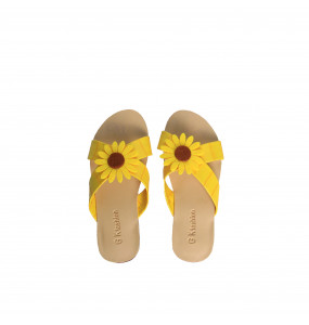 Seble _Kids Sunflower Syntactic leather Shoe